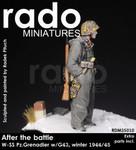 Rado Miniatures - After the Battle, WSS Pz. Grenadier w/G43,Winter, 1944-45