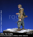 Rado Miniatures - After the Battle, WSS Pz. Grenadier w/SIG44, Winter, 1944-45