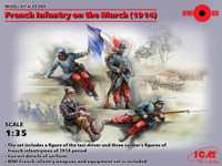 ICM Models - WWI French Infantry on the March, 1914