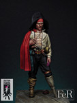 FeR Miniatures: Peter Punk Productions - Sergio Durán,  Spanish Buccaneer, 1671