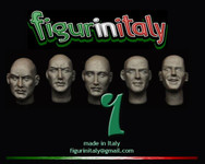 FigurinItaly Miniatures - Conversion Head Set 1 (1/30th)