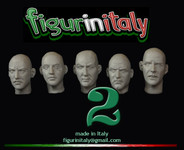 FigurinItaly Miniatures - Conversion Head Set 2 (1/30th)