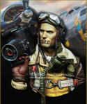 Young Miniatures - B-17 Crewman with K20 Camera