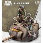 Scale 75 - Tank Turret & Coke w/2 Figures