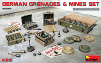 Miniart Models - German Grenades & Mines Set