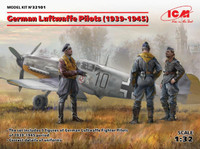 ICM Models - WWII German Luftwaffe Pilots 1939-1945