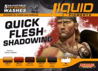 Lifecolor  -  LifeColor Liquid Pigment Flesh Shadowing Set