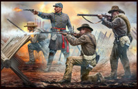 Masterbox Models - Civil War, 18th North Carolina Infantry Rgmt, Army of Northern Virginia