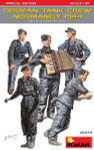 Miniart Models - German Tank Crew, Normandy, 1944
