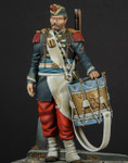 Model Cellar - French Voltiguer Drummer, Franco-Prussian War