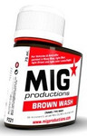 MIG Productions - Enamel Brown Wash