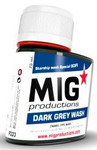 MIG Productions - Enamel Dark Grey Wash