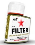 MIG Productions - Enamel Green Filter for Khaki & Olive Green