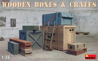 Miniart Models - Wooden Boxes and Crates
