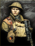 Young Miniatures - British Lewis Gunner, WWI