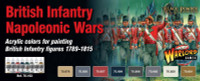 Vallejo - British Infantry Napoleonic 1789-1815 Wargames Paint Set