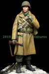 Alpine Miniatures - WWII U.S.Infantry, Winter 1944-45