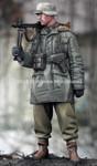 Alpine Miniatures - WWII WSS MG Gunner at Kharkov