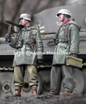 Alpine Miniatures - WWII WSS MG Team at Kharkov Set