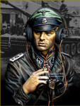 Young Miniatures - SS Panzer Commander, Normandie 1944 - YM1876