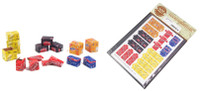 Matho Models - Cardboard Boxes Soda (34) (Coca-Cola, Coca-Cola Zero, Pepsi, Schweppes, Fanta)