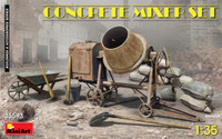 Miniart Models - Concrete Mixer Set