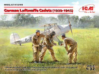 ICM Models - WWII German Luftwaffe Cadets 1939-1945