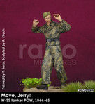 Rado Miniatures - Move Jerry! / W-SS tanker POW, 1944-45