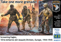 Masterbox Models - Screaming Eagles 101st Airborne (Air Assault) Division Europe 1944-1945