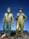 FeR Miniatures - U. S. Tank Crew, E. T. O. Set