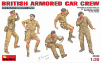 Miniart Models - British WWII Armored Car Crew