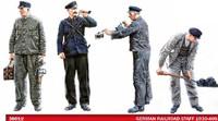 Miniart Models - German Railroad Staff 1930-40s