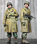 Alpine Miniatures - WW2 US Infantry, Winter set