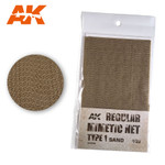 AK Interactive - Camouflage Net Type 1 Sand