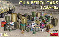 Miniart Models - Oil & Petrol Cans 1930-40s