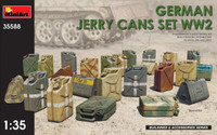 Miniart Models - WWII German Jerry Cans Set