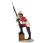 Wm. Britain: Anglo Zulu War: British 24th Foot with Foot on Biscuit Box