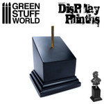 Green Stuff World - Square Tapered Black Plinth