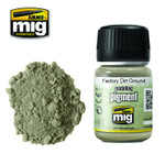 Ammo of MiG Pigments: Factory Dirt Ground