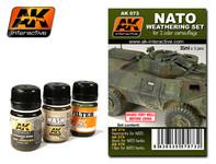 AK Interactive - NATO Weathering Set