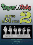 FigureinItaly Miniatures - Hands 2 (75mm)