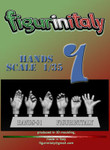 FigureinItaly Miniatures - Hands 1 (1/35th)