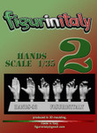 FigureinItaly Miniatures - Hands 2 (1/35th)
