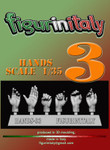 FigureinItaly Miniatures - Hands 3 (1/35th)
