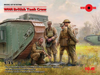 ICM Models - WWI British Tank Crew