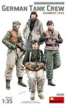 Miniart Models - German Tank Crew Kharkov, 1943