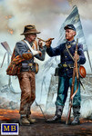 Masterbox Models - Family Reunited American Civil War, End of the War, Confederate & Union Soldiers