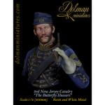 "Dolman Miniatures - 3rd.New Jersey Cavalry, ""Butterfly Hussar"" (Bust)"