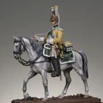 Metal Modeles - Mounted Trumpeter, 19th Regiment of Dragoons, 1807