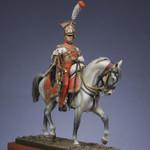 Metal Modeles - Mounted Trumpeter, Red Lancers, 1813